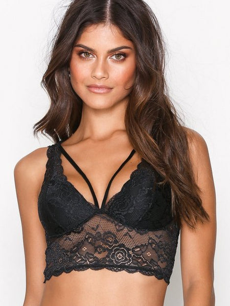 CHLOE LACE BRA W/ STRINGS
