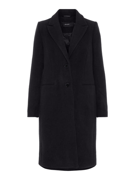 BLAZA LONG WOOL JACKET