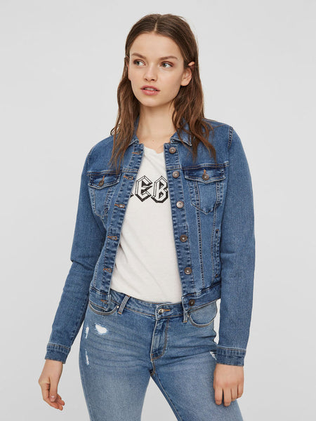 HOT SOYA SHORT DENIM JACKET