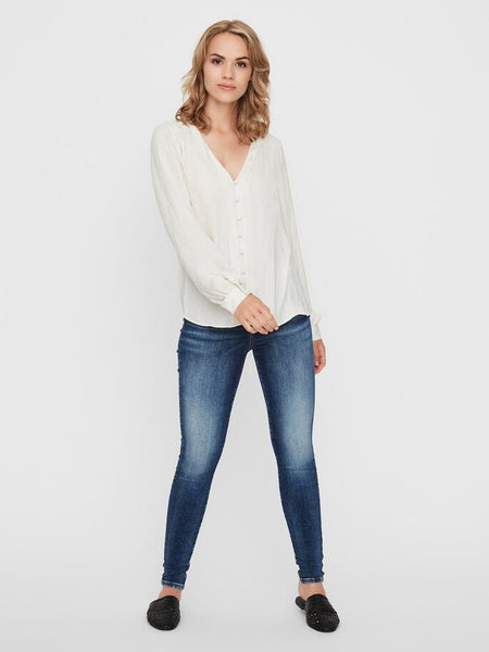TANJA  V-NECK SHIRT