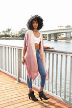 Load image into Gallery viewer, COTTON BOHEMIAN OMBRE KIMONO