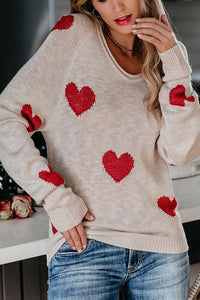 SWEET HEART SWEATER