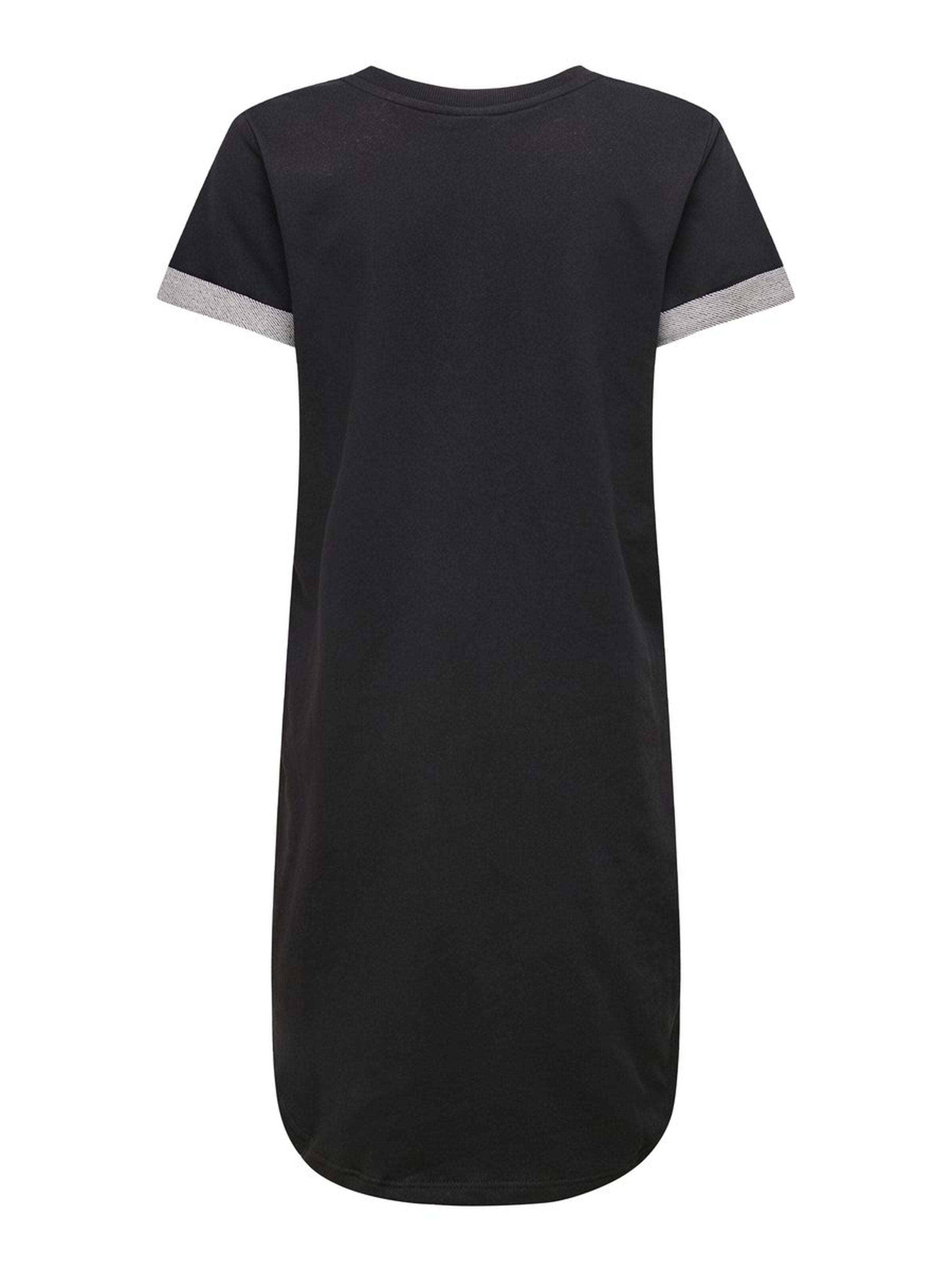 IVY LOOSE DRESS // BLACK