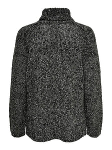 CASEY  L/S ROLL NECK PULLOVER KNIT