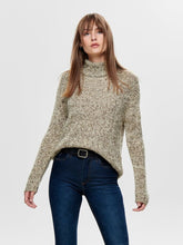 Load image into Gallery viewer, CASEY  L/S ROLL NECK PULLOVER KNIT