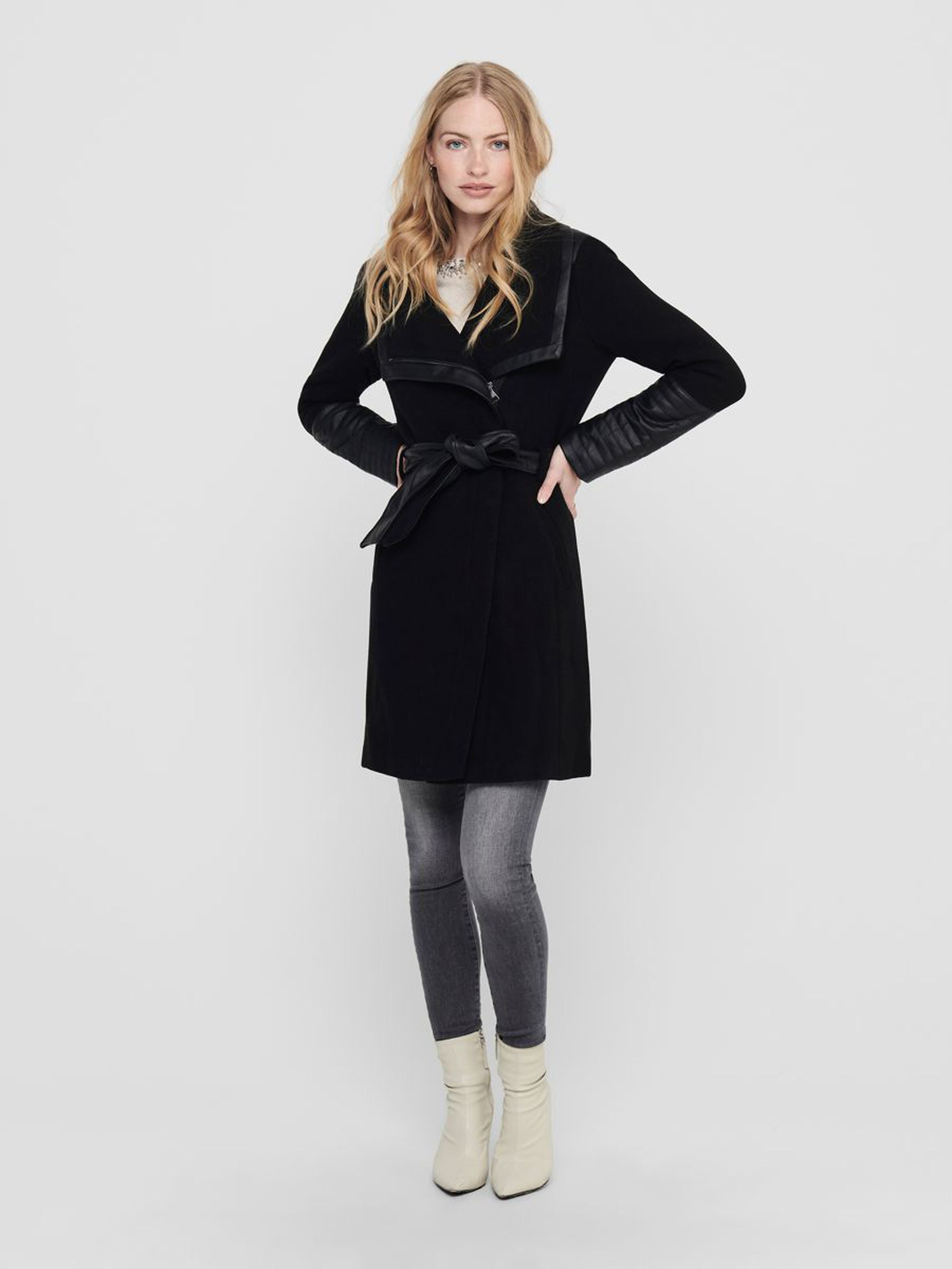 ELLY MIX WOOL COAT