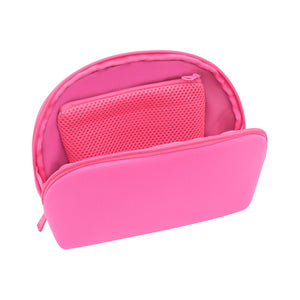 DOME COSMETIC CASE - SIGNATURE PINK