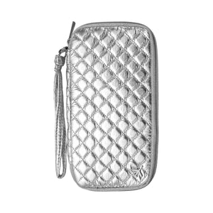 TRAVEL DOCUMENT CADDY - ODYSSEY SILVER