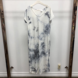 SLATE TIE DYE BAMBOO MAXI Dress