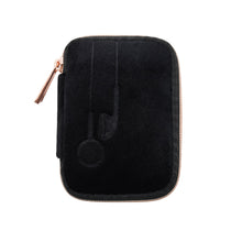 Load image into Gallery viewer, VIXEN EARBUD CASE - BLACK  (velour finish)