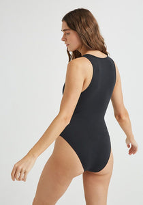 MODAL/COTTON Bodysuit / BLACK