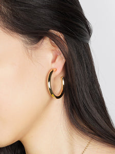 CLASSIC BOLD HOOP EARRINGS