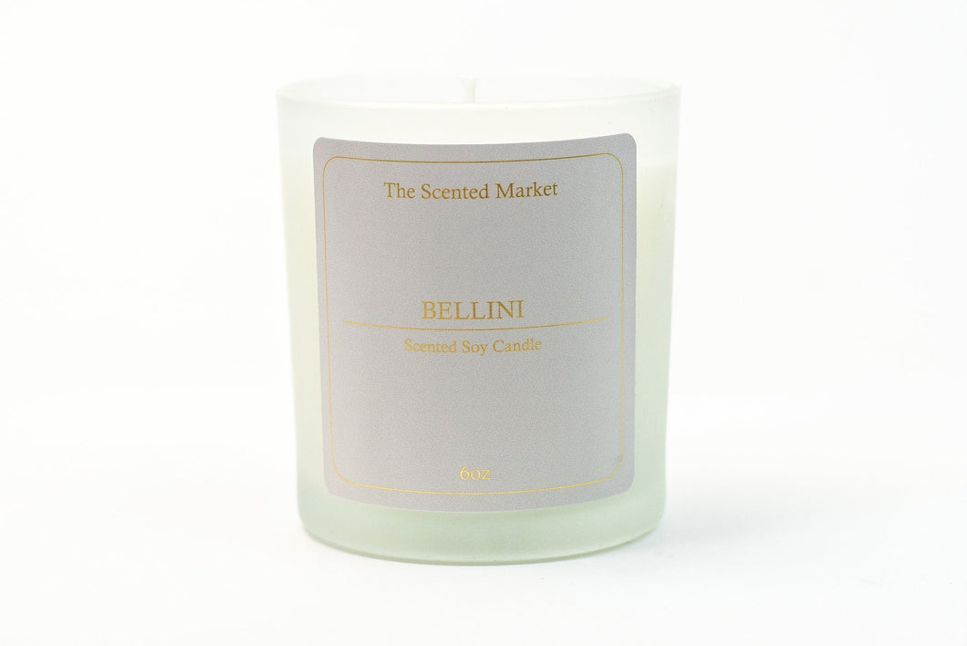 Bellini Soy Wax Candle 6oz