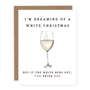 DREAMING OF A WHITE CHRISTMAS | WHITE WINE