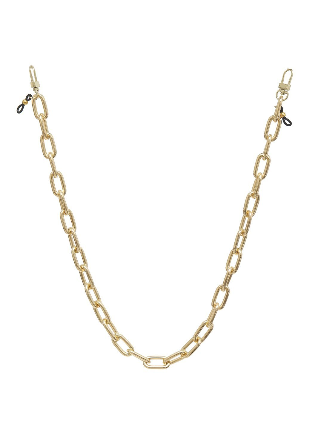 KATE FACE MASK CHAIN - GOLD