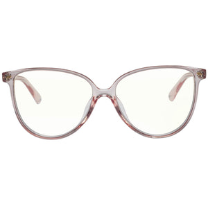 LE SPEC - ETERNALLY BLUE LIGHT  GLASSES / PINK