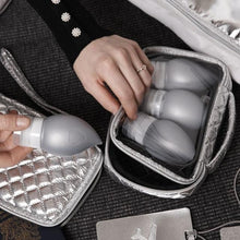 Load image into Gallery viewer, SILICONE TRAVEL BOTTLES - ODYSSEY SILVER