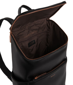 BRAVE Backpack - Black Rose Gold | MATT & NAT