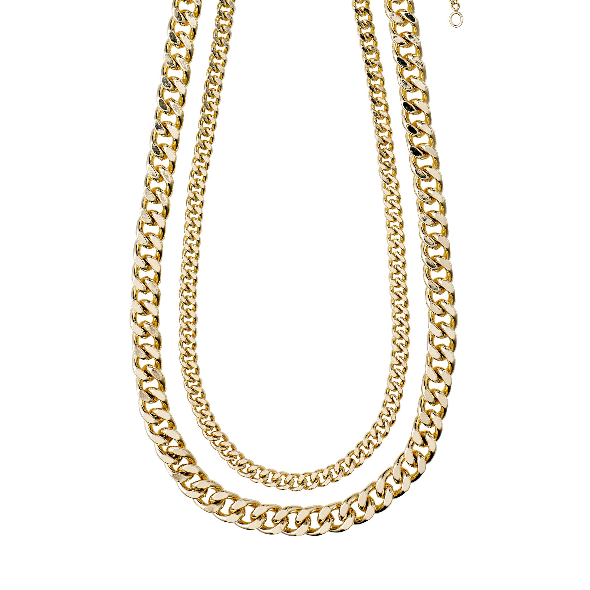 Pilgrim 2-in-1 Necklace Set Water | GOLD
