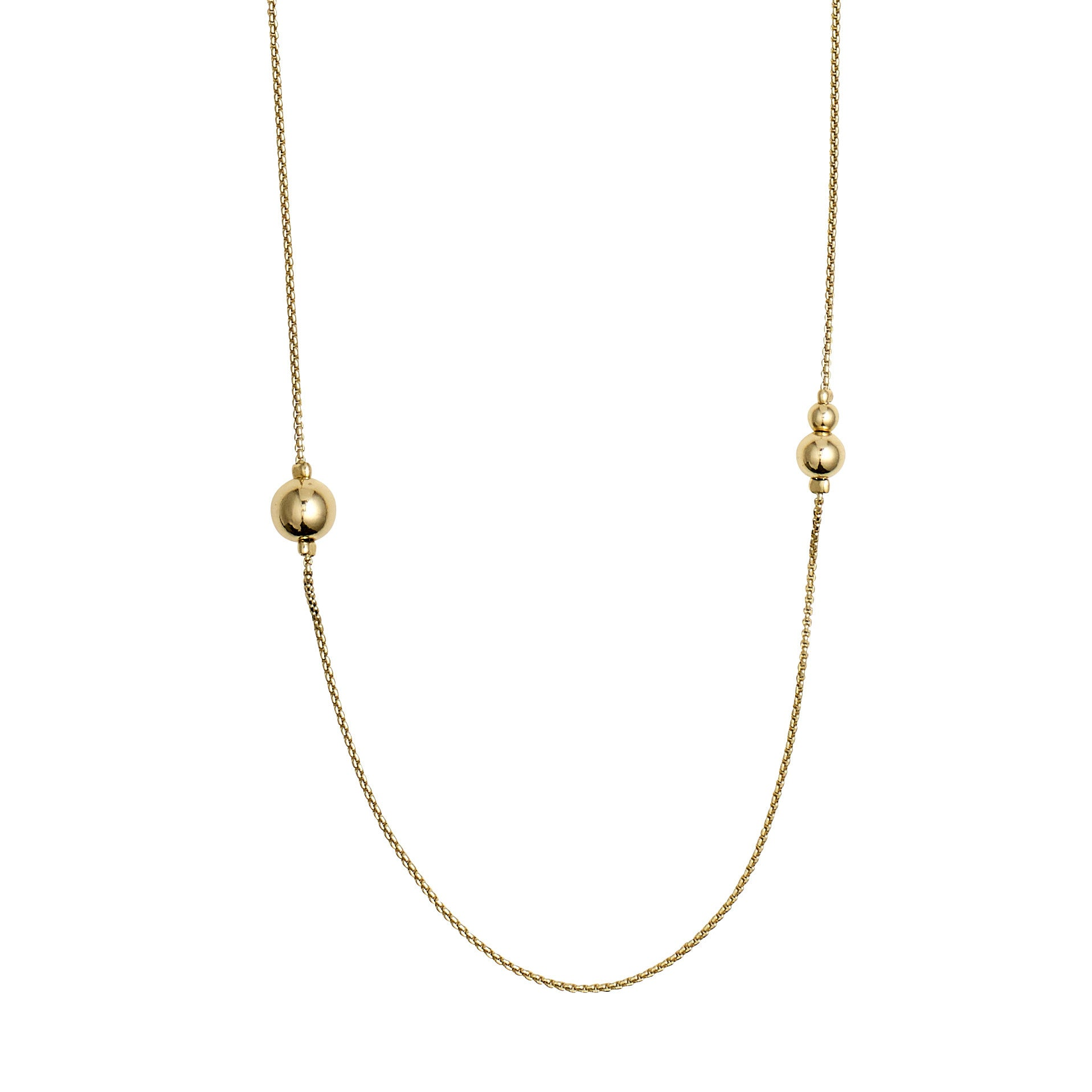 Pilgrim Necklace 90cm Earth | GOLD