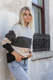VIRGO TWO TONED SWEATER