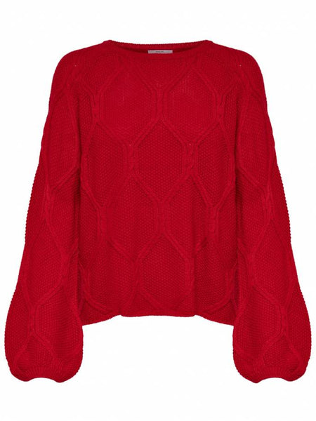 FELINA LONG SLEEVE PULLOVER KNIT