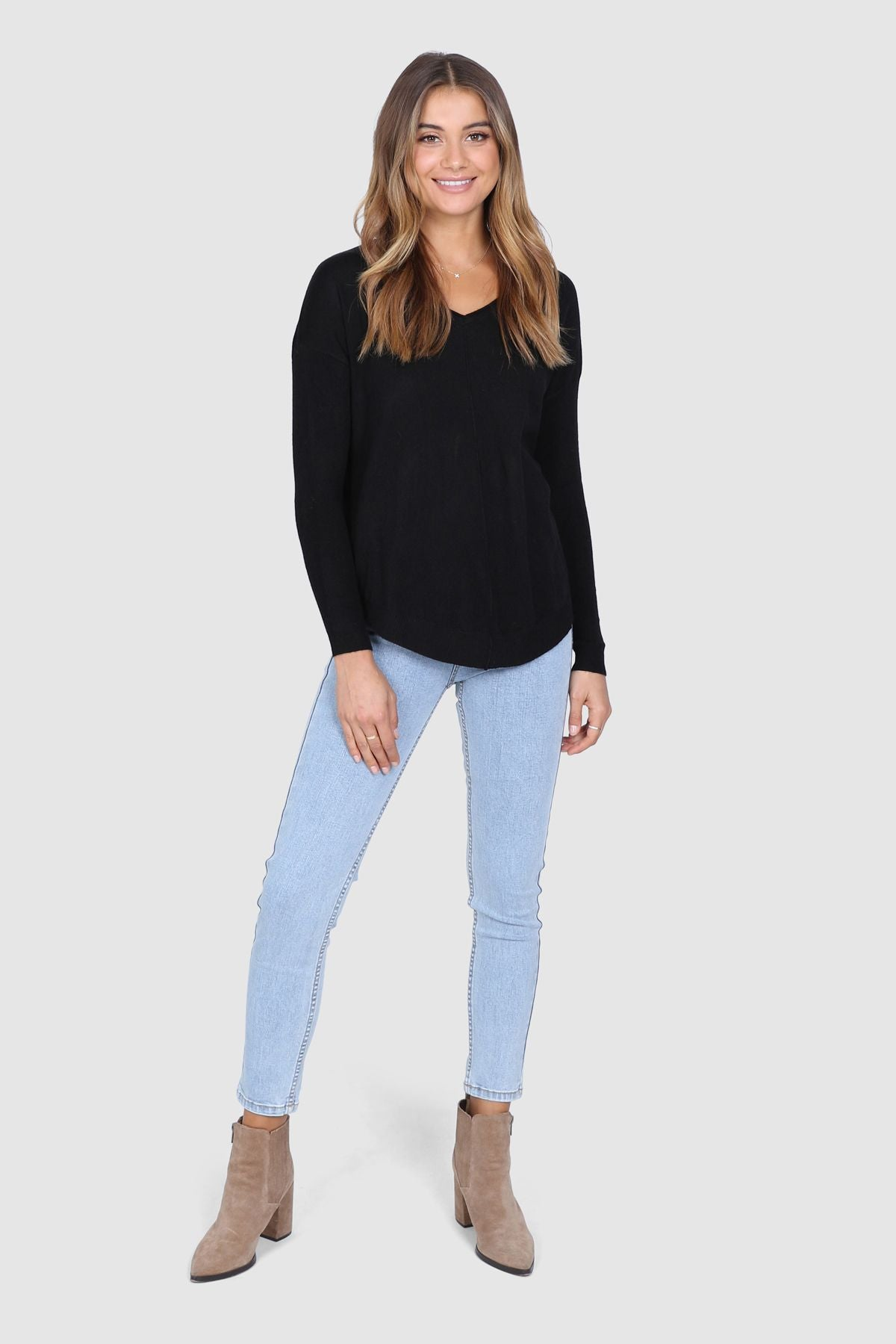 MIKAYLA KNIT - BLACK