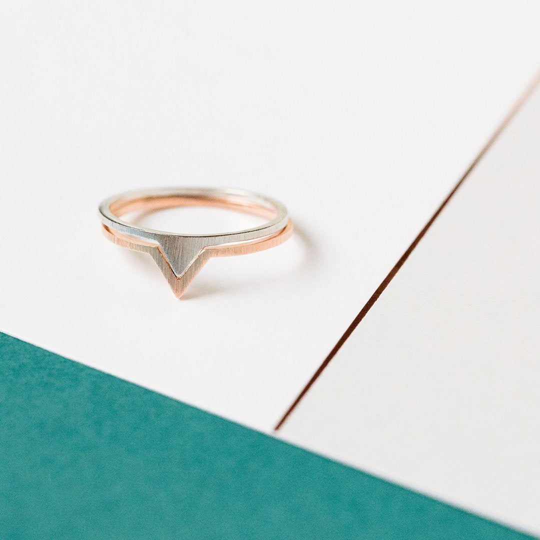 ESTHER RING // ROSE GOLD