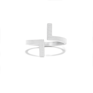 TEAGAN RING // SILVER (ONE SIZE)