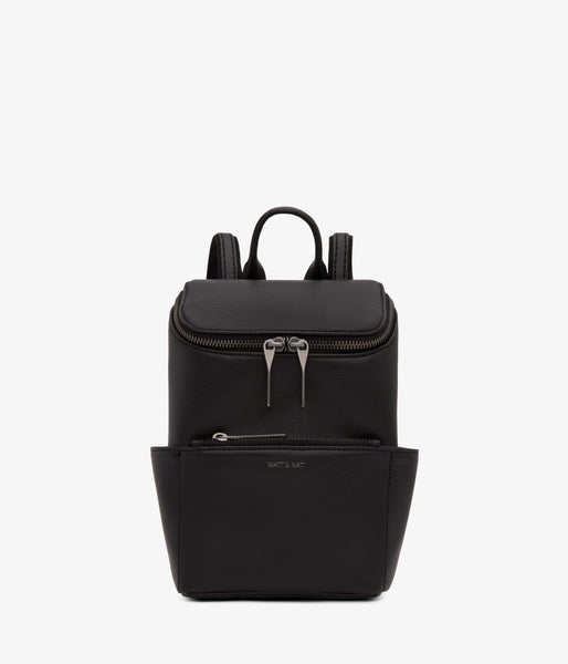 BRAVE MINI VEGAN BACKPACK | Black