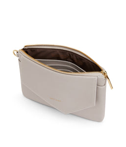 NIA Zipper Wallet - Pearl