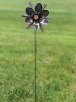 Spoon Penny Flower Stake