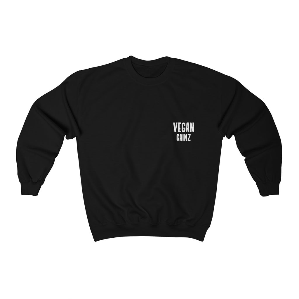 """VEGAN GAINZ"" Unisex Sweatshirt"