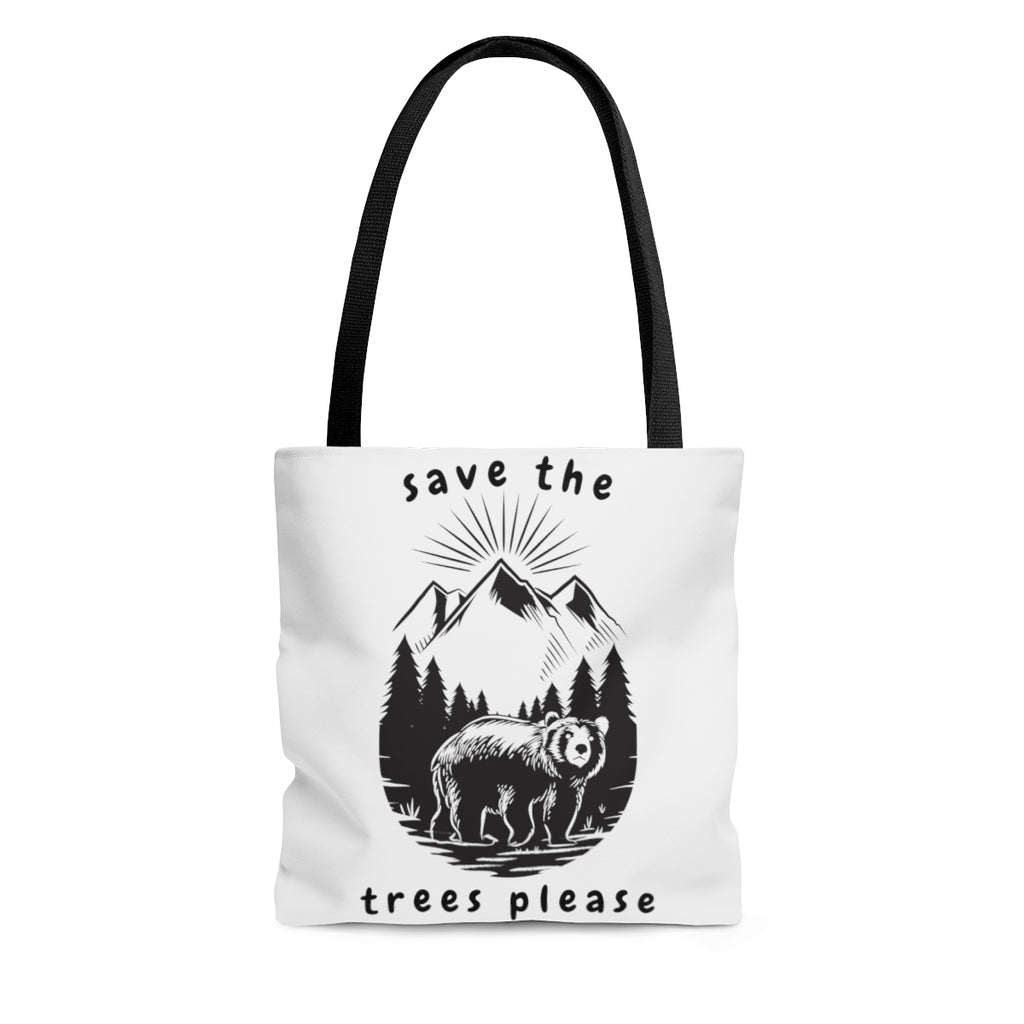 """Save The Trees Please"" Tote"