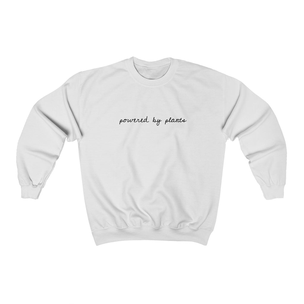 """POWERED BY PLANTS"" Unisex Sweatshirt"