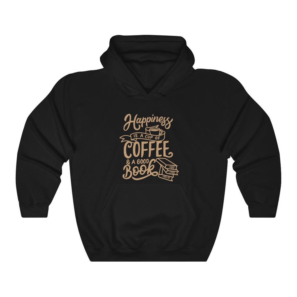 ''HAPPINESS IS A CUP OF COFFEE'' Unisex Hoodie