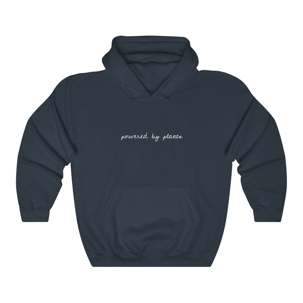 """POWERED BY PLANTS"" Unisex Hoodie"