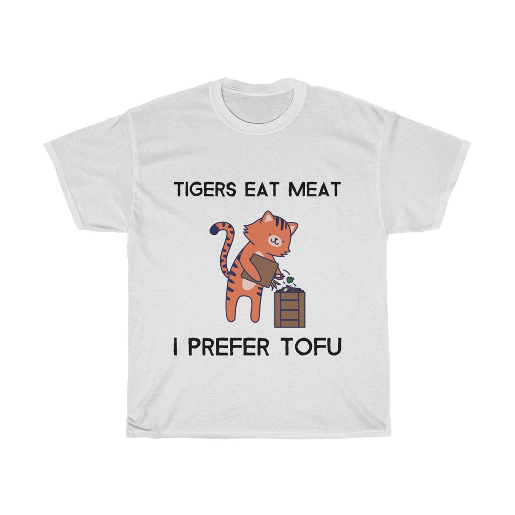 """Tigers Eat Meat I Prefer Tofu"" Unisex T-Shirt"