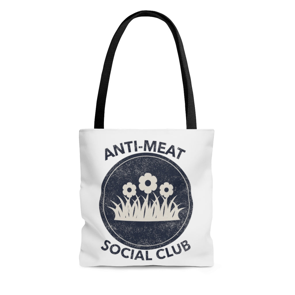 """ANTI-MEAT SOCIAL CLUB"" Tote"