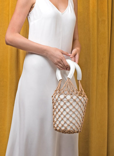 Nadi Bolsa - Leather Bucket Handbag - mhyplace