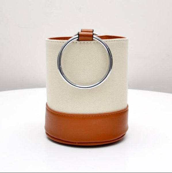 Nadi Bolsa - Bucket Ring Handbag - mhyplace