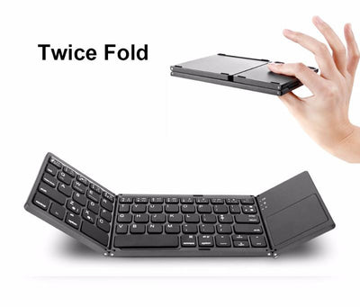 Portable Bluetooth Folding Mini Keyboard - mhyplace