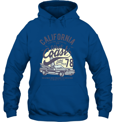 Sanity Shirts - Cali West Coast Hoodie - mhyplace