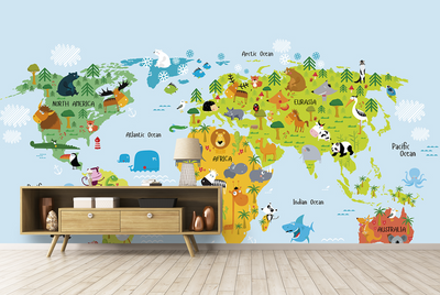 Children's Park - Animal World Map - mhyplace