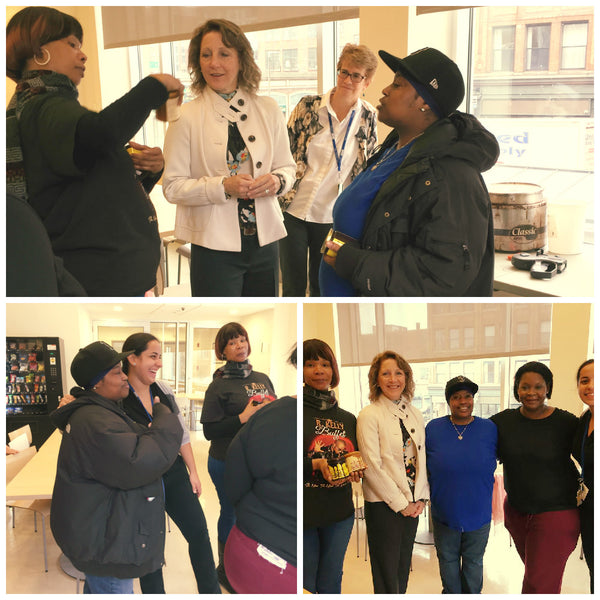 Mass 'First Lady' Lauren Baker Visits Project Place and WOW