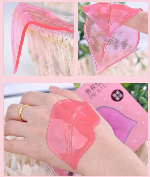 Lip Plumper Crystal Collagen Mask 10pcs
