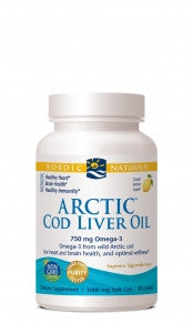 Arctic Cod Liver Oil 1000 mg 90 Softgels