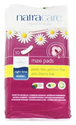 Natural Pads 10 Night Time