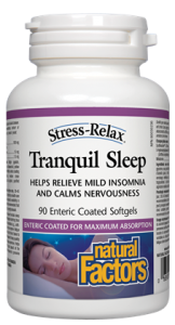 Stress Relax Tranquil Sleep