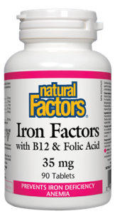 Iron Factors with B12 & Folic Acid